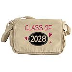 Class of 2028 (butterfly) Messenger Bag