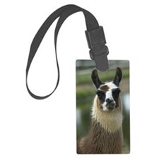 llama1_sticker Luggage Tag