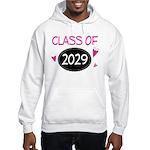 Class of 2029 (butterfly) Hooded Sweatshirt