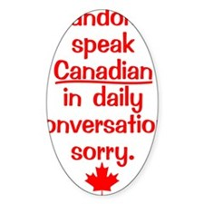 Canadian6 Decal