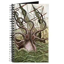 Giant Squid vs. Pirates color Journal