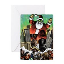 santzilla Greeting Card