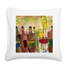 Tuscany Square Canvas Pillow