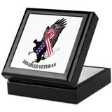 Disabled Veteran Keepsake Box