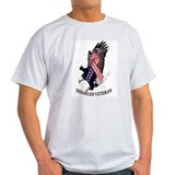 Disabled Veteran Ash Grey T-Shirt
