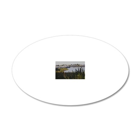 Views of Alameda One 20x12 Oval Wall Decal