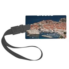 Croatia Calendar Cover Luggage Tag