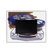 1970 Chevelle Blue-White Car Picture Frame