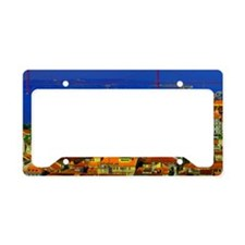 Colorful_Lisbon-3x5ratio License Plate Holder
