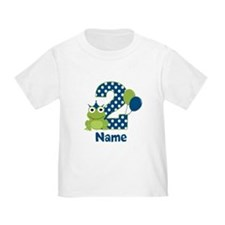 2nd Birthday Frog T-Shirt