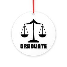 Law School Grad Class 2012 Ornament (Round)
