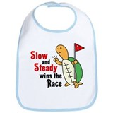 Tortoise and Hare Bib