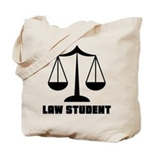 Law School Student Tote Bag