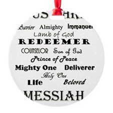 names of jesus Ornament
