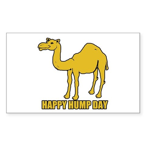 Happy hump day 2 Decal