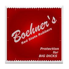Boehners Rubbers.gif Tile Coaster