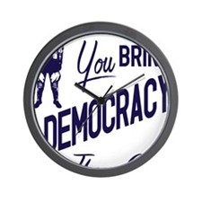 Democracy Light Wall Clock