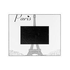 EiffelTower_10x10_apparel_BlackOutli Picture Frame