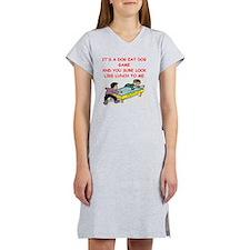 air hockey Women's Nightshirt