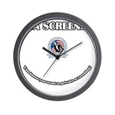 TSA_Screener Wall Clock