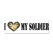 Cute Soldier Car Magnet 10 x 3