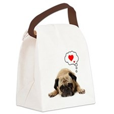 Valentine 5x7 Canvas Lunch Bag