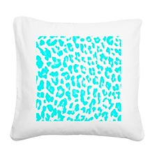 Lite Blue Lep 460 Square Canvas Pillow