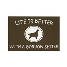 Gordon Setter Rectangle Magnet (100 pack)