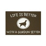 Gordon Setter Rectangle Magnet (10 pack)