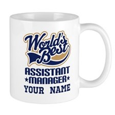 Worlds Best Assistant Manager Personalized Mugs