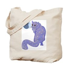 Night Cat Tote Bag