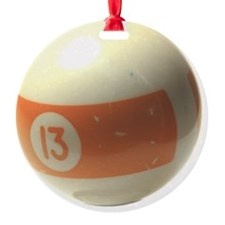 13 ball ornament Ornament