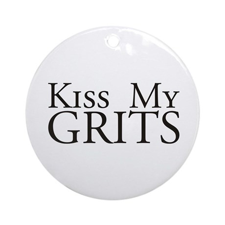 Kiss My Grits Alice Mel's Diner Ornament (Round)