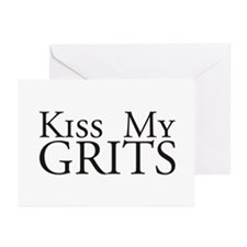 Kiss My Grits Alice Mel's Diner Greeting Cards (Pk