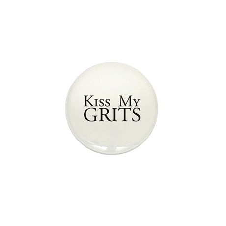 Kiss My Grits Alice Mel's Diner Mini Button