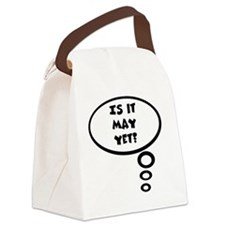 is it may Canvas Lunch Bag
