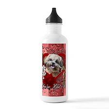 Valentine_Red_Rose_Shi Water Bottle