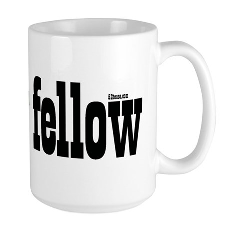 Mellow Fellow Large Mug