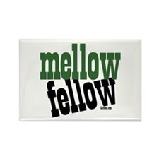 Mellow Fellow Rectangle Magnet