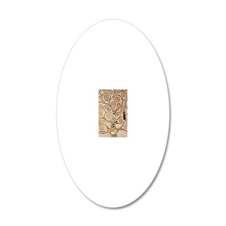 klimt-iphone 20x12 Oval Wall Decal