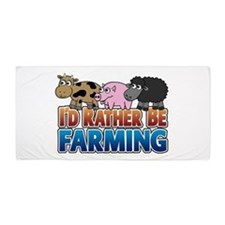 farming-rather_3_animals.png Beach Towel