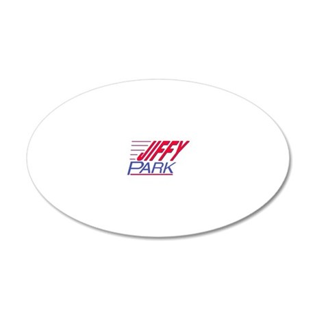 Jiffy_Park_Front 20x12 Oval Wall Decal