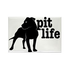 Pit Life Rectangle Magnet