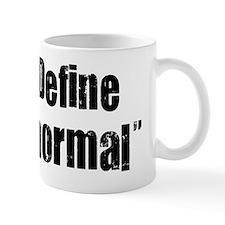 Define Normal Black. psd Mug