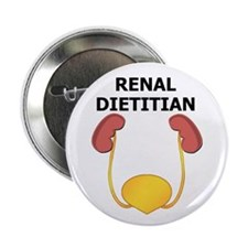"Renal Dietitian 2.25"" Button (100 pack)"