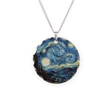 Vincent Van Gogh Starry Nigh Necklace