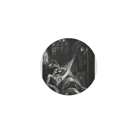 Frankenstein Monster Mini Button
