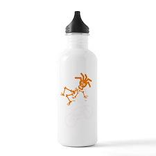 Eton orange white Water Bottle