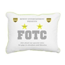 Hewitt FOTC gray clear Rectangular Canvas Pillow
