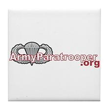 ArmyParatrooper.org Tile Coaster